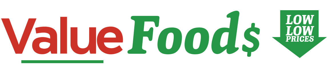 A theme logo of Value Foods